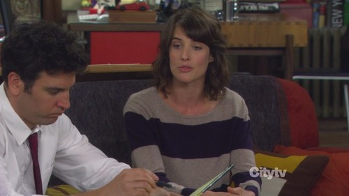 7x02 - The Naked Truth - robin-scherbatsky Screencap