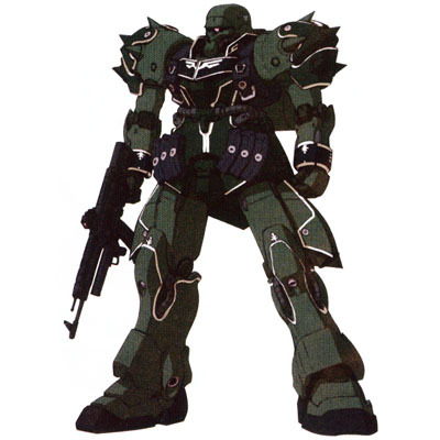 Gundam দেওয়ালপত্র titled AMS-129 Geara Zulu (Guards Type)