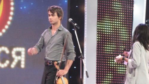 """Alexander in Ukrainian TV-show """"Dreams come true"""" 6/10/2011 ;)"""