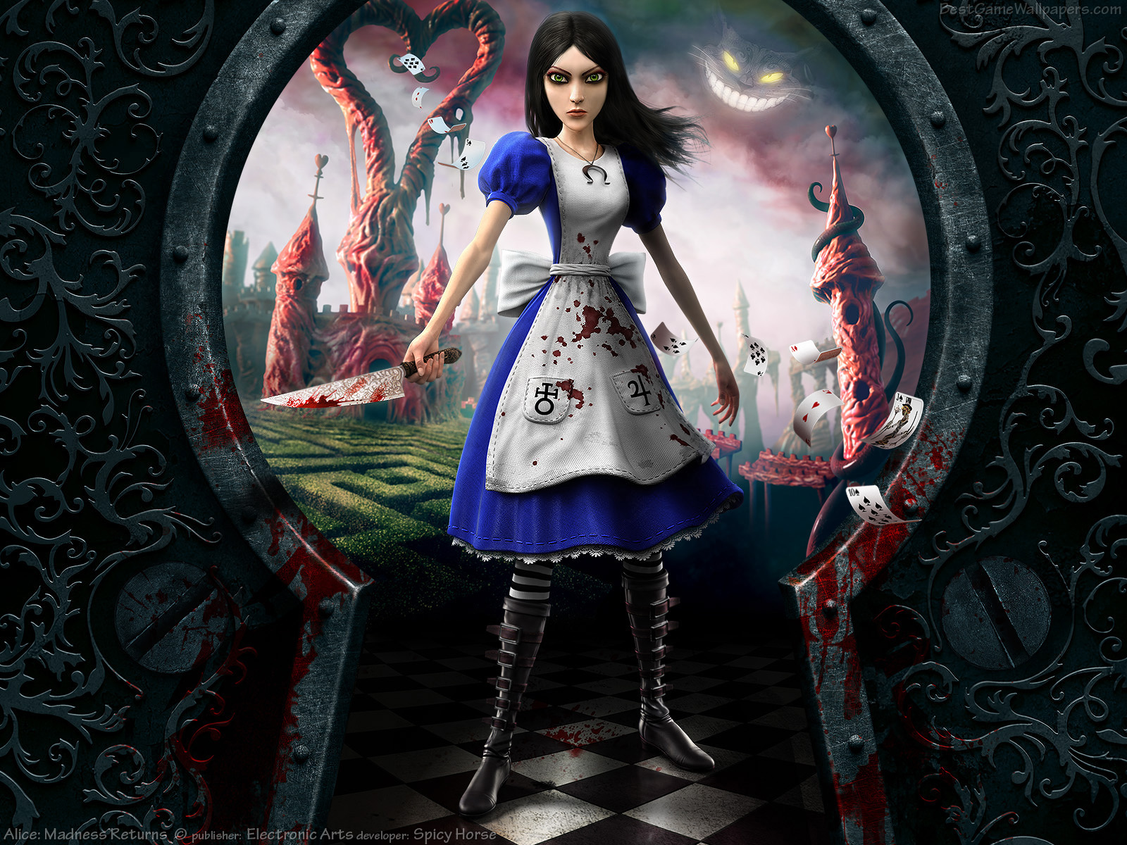 evil alice in wonderland game online