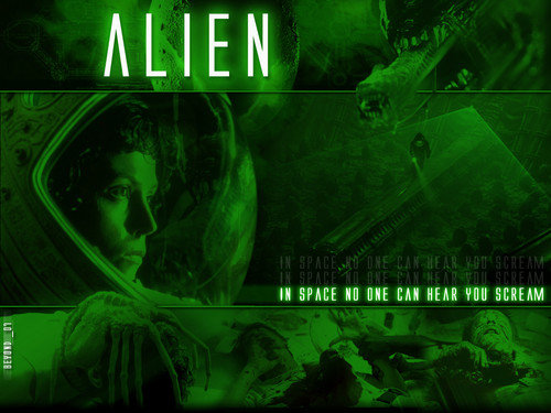 Horror legends wallpaper probably with anime entitled Alien