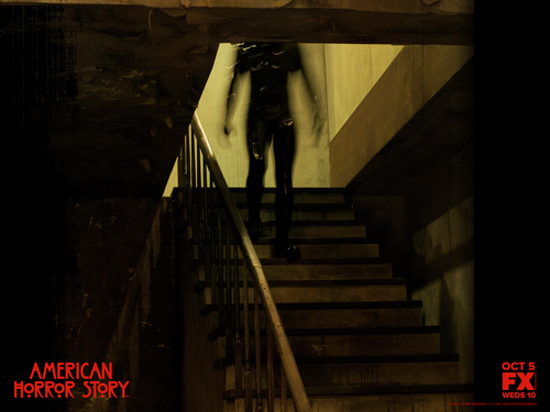 American Horror Story wallpaper with a bannister titled American Horror Story