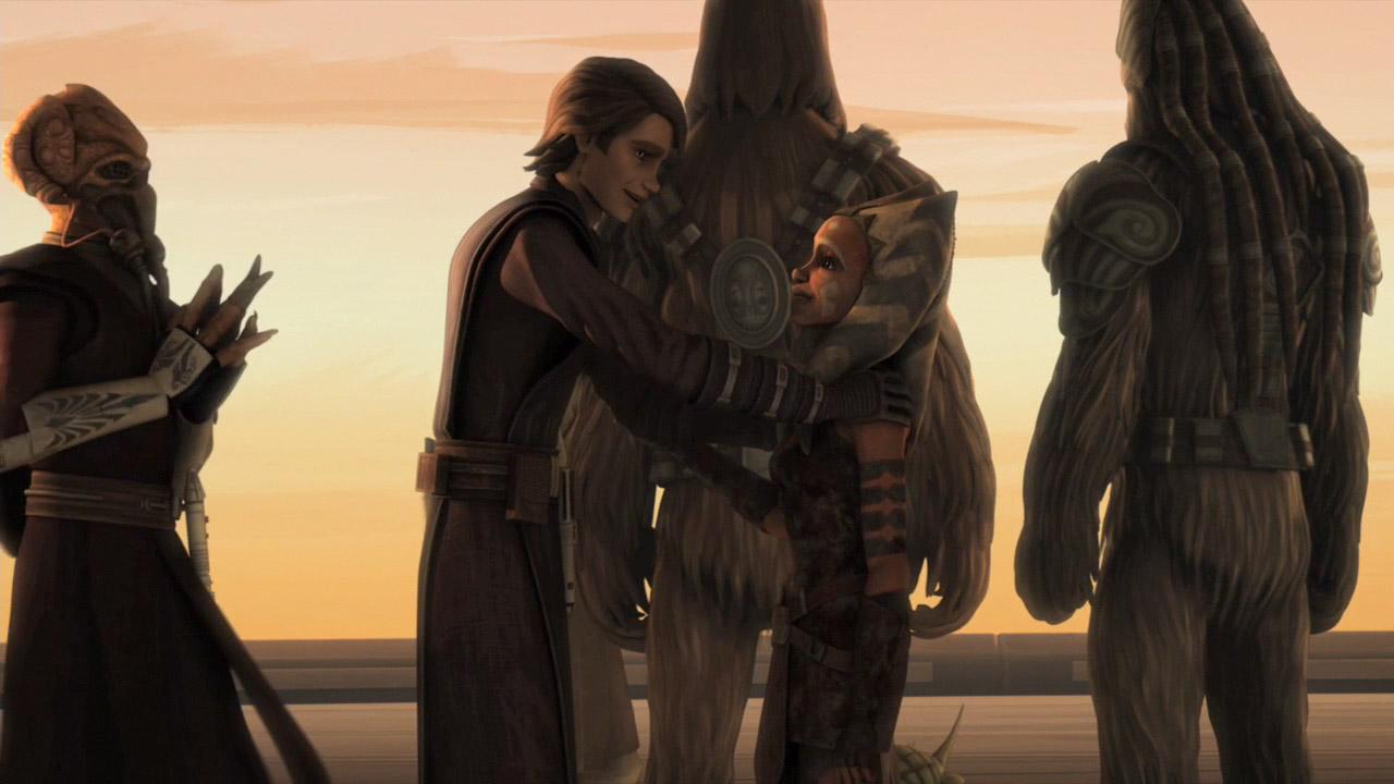 Ahsoka and Anakin: Lasting Impact | Roqoo Depot - Ahsoka and anakin