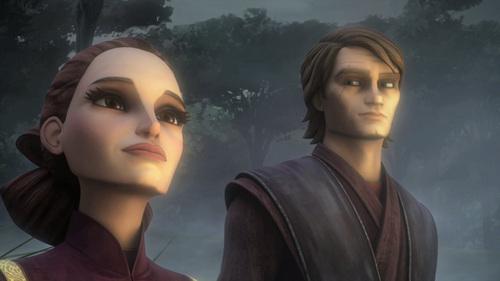 Anakin and Padme Shadow Warrior