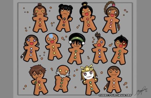 avatar Cookies!