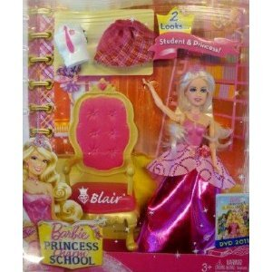 barbie Mini Kingdom Princess Charm School Blair,Headly,Delancy