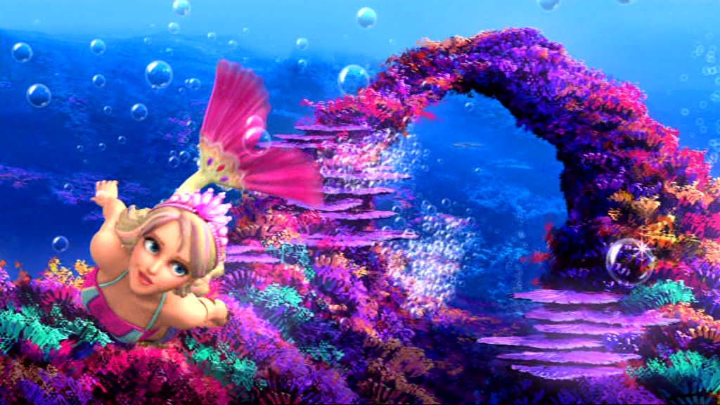 Barbie v příběhu Mermaid 2 - Barbie-filmy foto