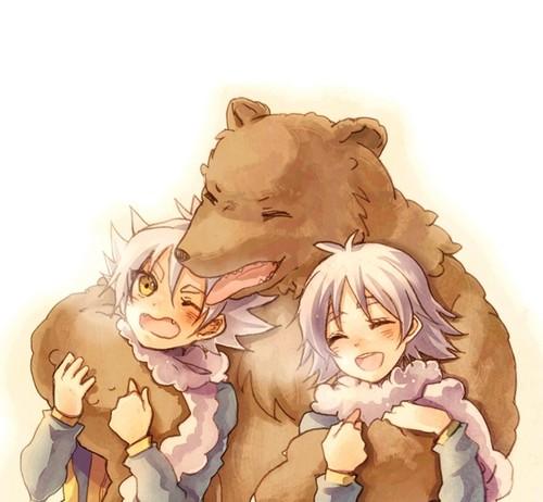 медведь Любовь