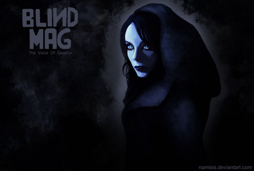 Repo! The Genetic Opera wallpaper entitled Blind Mag
