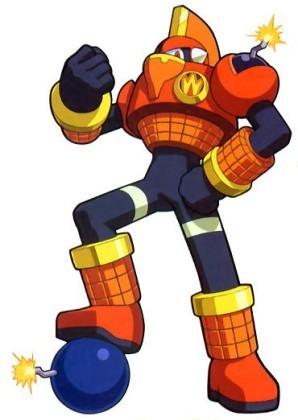 Megaman দেওয়ালপত্র probably with জীবন্ত entitled BombMan.EXE