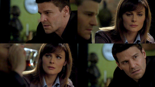 Booth and Bones wallpaper with a portrait entitled Booth&Bones; 6x13