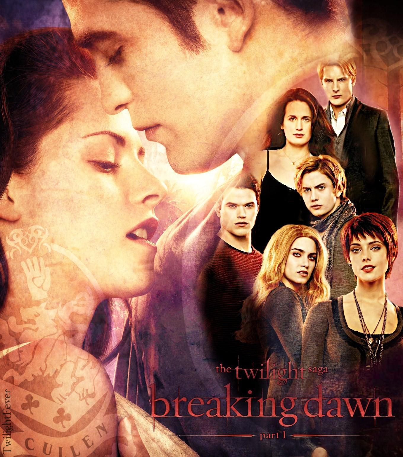 Breakingdawn The Cullens Twilight Movie Fan Art