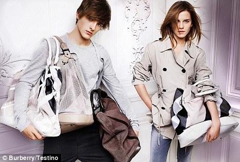 burberry Emma Watson and Alex Watson [brother]
