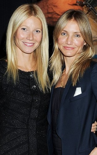 Cameron Diaz and Gwyneth Paltrow at The Duke Of Edinburgh's Official Launch of Mayfair's 'The Arts