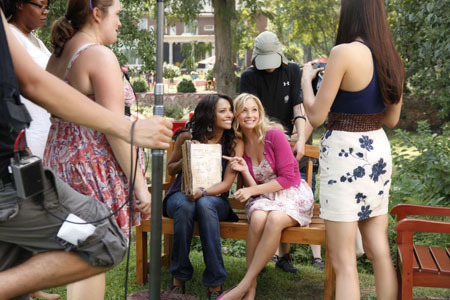 Candice Bangtan Boys of TVD 3x04: 'Disturbing Behavior'