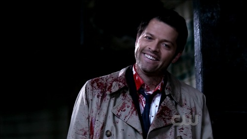 Castiel wallpaper titled Castiel - 7x02 - Hello, Cruel World
