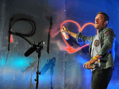 Chris Martin Rock in Rio 2011 - Coldplay - Yellow (01/10/2011)