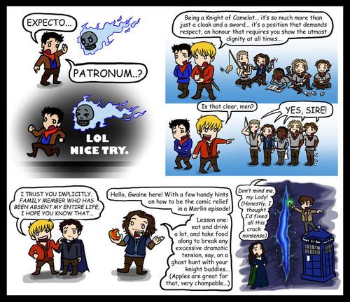 Comic Merlin Spoiler - Cute! Cute! Cute!