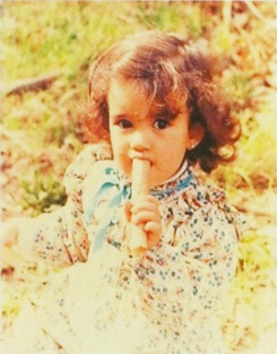 Cote when she was little - cote-de-pablo Photo