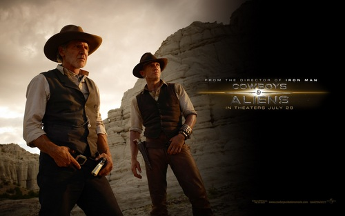 Cowboys and Aliens-Harrison Ford