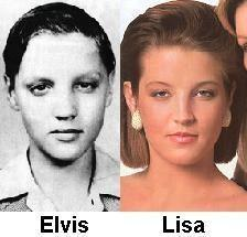 Elvis Aaron Presley and Lisa Marie Presley wallpaper containing a portrait entitled Daddy and Lisa