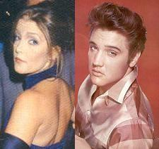 Elvis Aaron Presley and Lisa Marie Presley wallpaper containing a portrait titled Daddy and Lisa