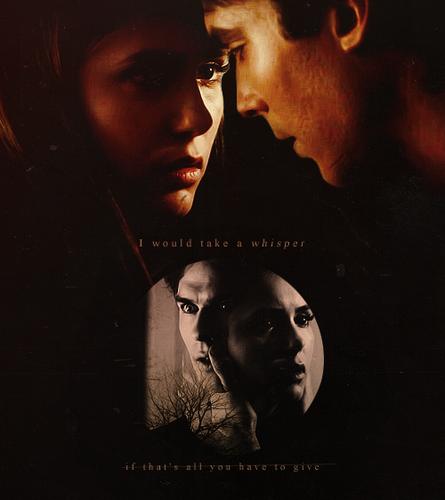 Delena & Steferine wallpaper entitled Damon & Elena <3