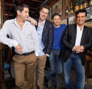 Daytime drinks with Il Divo