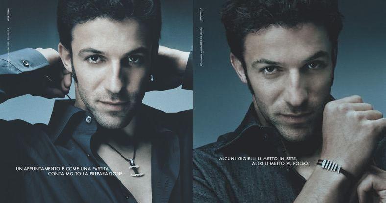 Del Piero as model