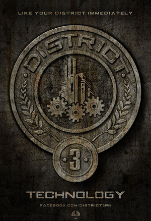 The Hunger Games پیپر وال titled District 3 - Technology