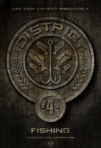 The Hunger Games پیپر وال titled District 4 (Fishing)