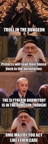 Dumbledore & Malfoy