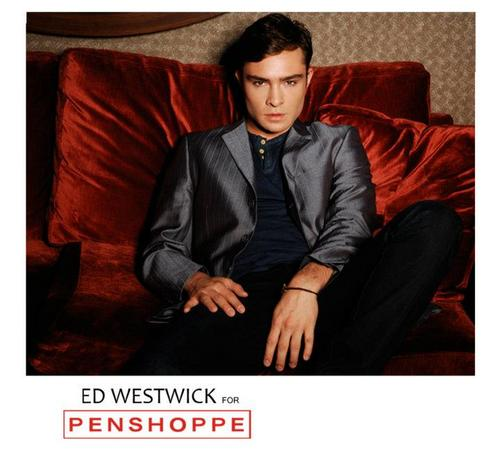 Ed Westwick for Penshoppe: Holiday 2011