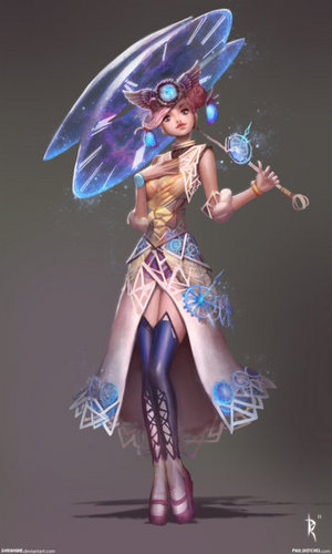 Effie Trinket 팬 Arts