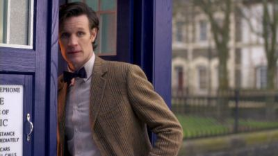 The Eleventh Doctor wallpaper with a business suit titled Eleven in The God Complex!♥