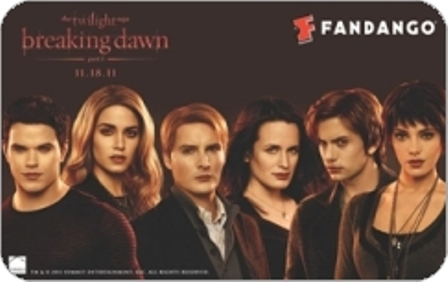Elizabeth as Esme Cullen on a new 'Breaking Dawn' promo card released by Fandango