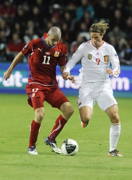 Fernando Torres vs Cech Repubblic.