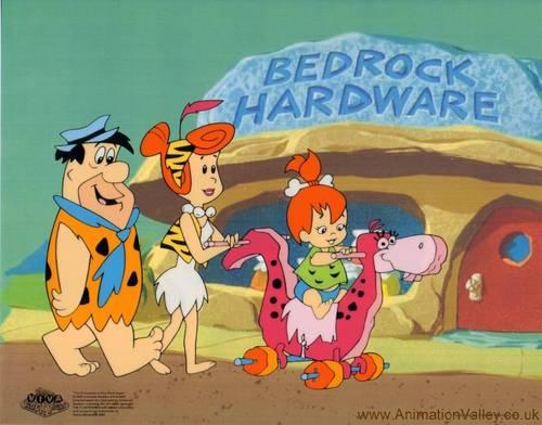 Flintstones Sericel