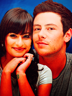 Glee wallpaper possibly with a portrait called For my Finchel/Mochele fan