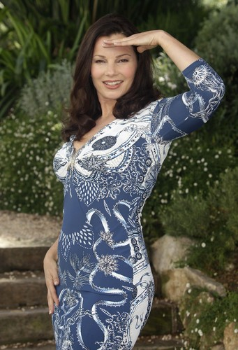 Фрэн Дрешер Обои probably containing a leotard, a maillot, and tights entitled Fran Drescher