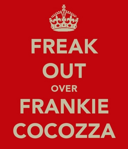 allsoppa wallpaper probably with a no parking zone called Freak Out Over Frankie Cocozza! 100% Real ♥