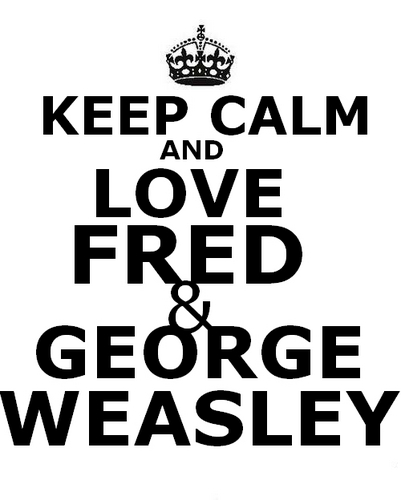 Фред and George Weasley