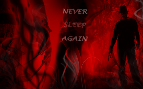 Horror legends wallpaper probably with a fire and a fire titled Freddy Krueger