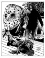 Freddy vs Jason - friday-the-13th fan art