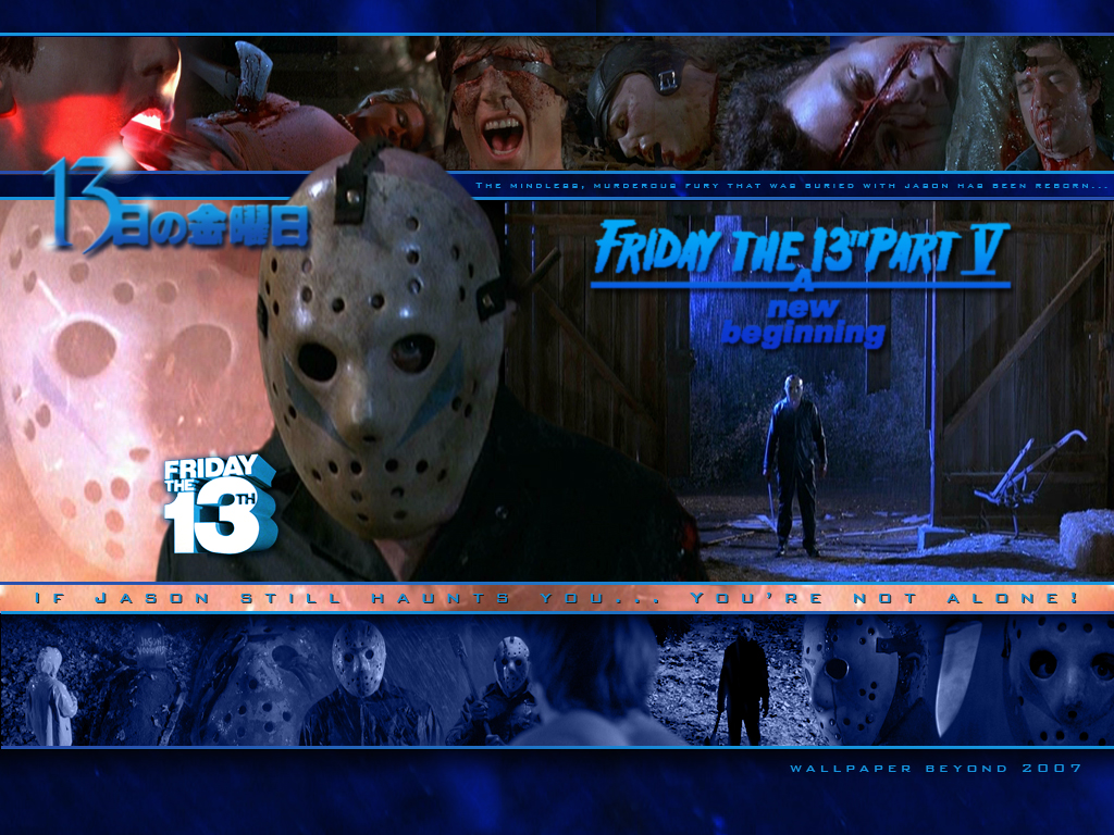 80s Horror Images Friday The 13th A New Beginning Hd Fond Décran