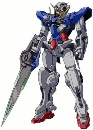 Gundam দেওয়ালপত্র called GN-001REII Gundam Exia Repair II