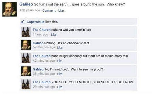 Galileo VS. The Church