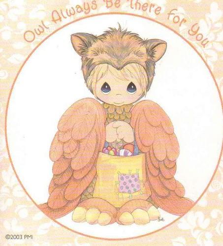 Halloween Precious Owl
