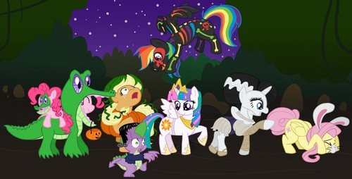 Halloween in Equestria - my-little-pony-friendship-is-magic Fan Art