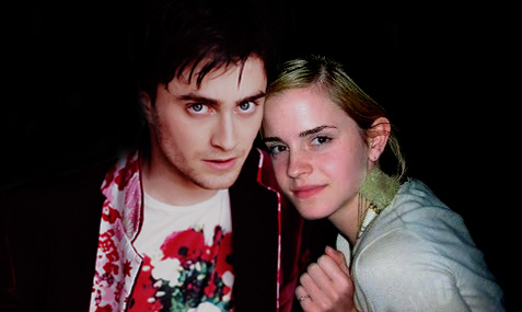 Harry and Hermione wallpaper titled Harry and Hermione